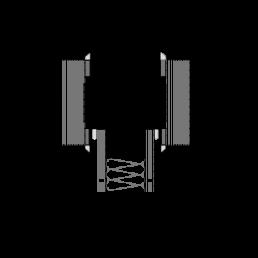 "F60 Festverglasung ""aluflam V"" mit 3-fach Isolierglas (UG = 0,5 W/m²k)"
